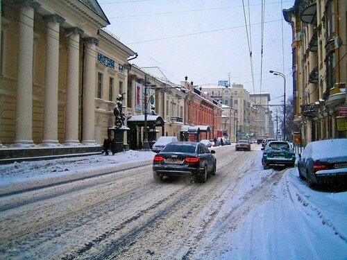 Prechistenka street, Moscow, Russia