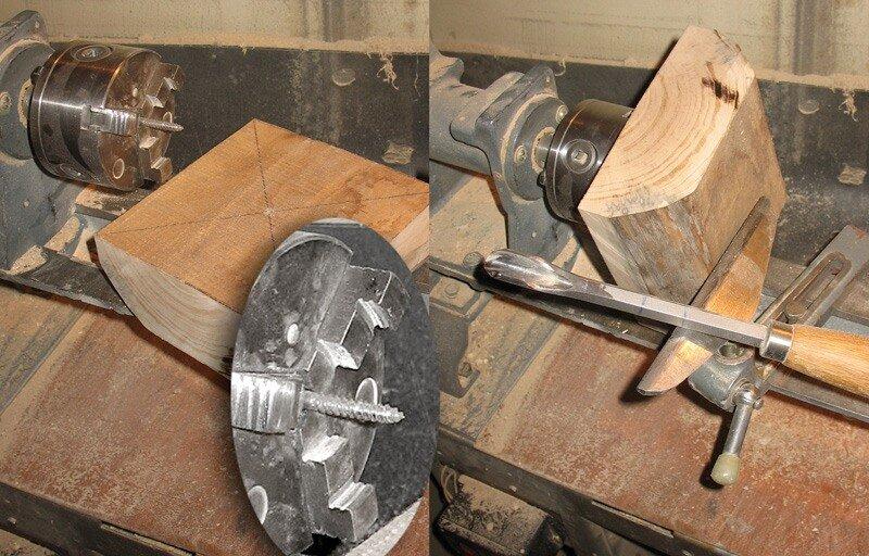 Планшайба для токарного станка по дереву 157