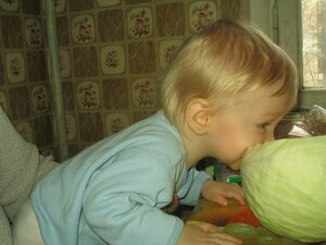 С детства кушаю полезную еду!