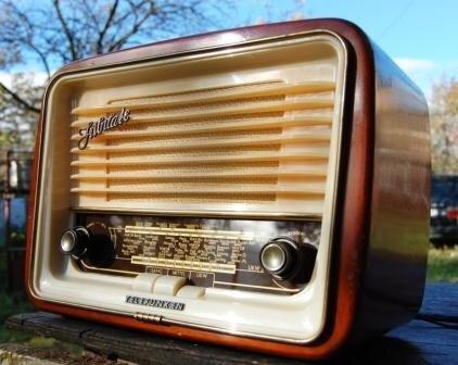 Telefunken 1953 года. Юбилейный - выпущен к 50летию фирмы Телефункен