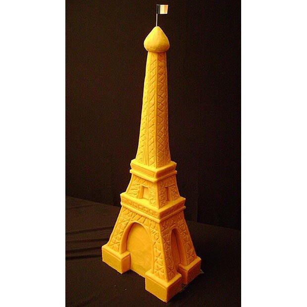 Sarah Kaufman, скульптура из сыра