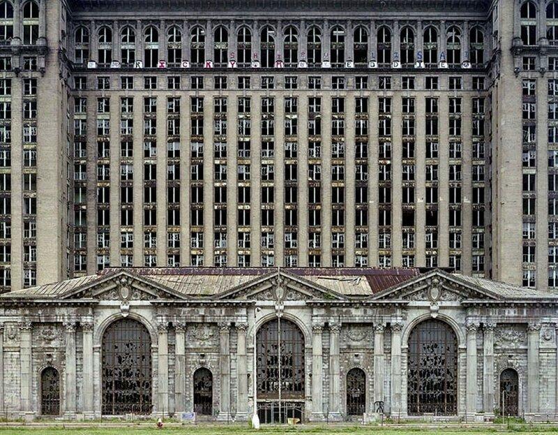 Заброшенный здания Детройта