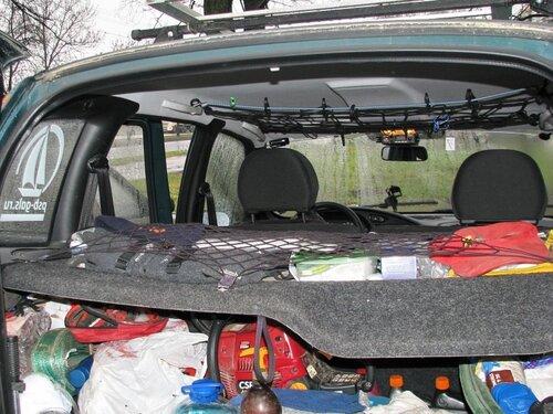Органайзер для багажника автомобиля своими руками нива