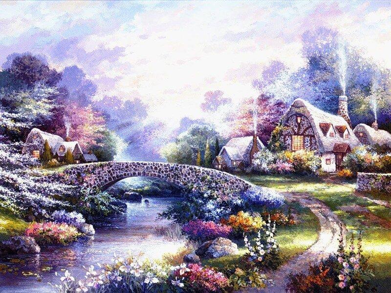 картинки красивых картин художников везучей