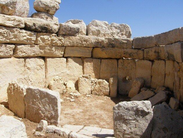 Мегалитические храмы Мальты. Хаджар-Ким