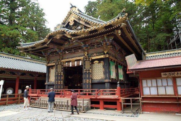 Храмовый комплекс Тосёгу. Япония