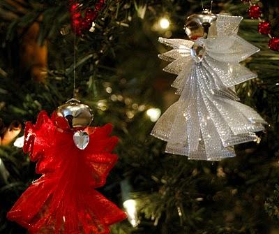 Ангелы для новогодней ёлки