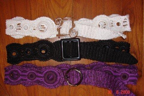 Вязание крючком пояса - Мастер Класс
