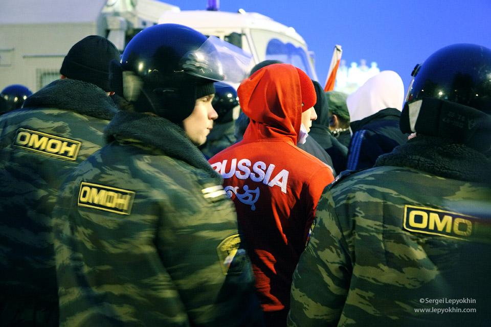 Акция «Стоп кавказский террор!» в Волгограде, 18 декабря