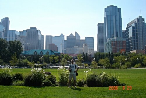 As in the center of Calgary appeared the most popular place in the city.
