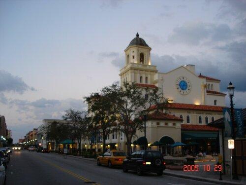 День рождения в Вест-Палм-Бич, Флорида.