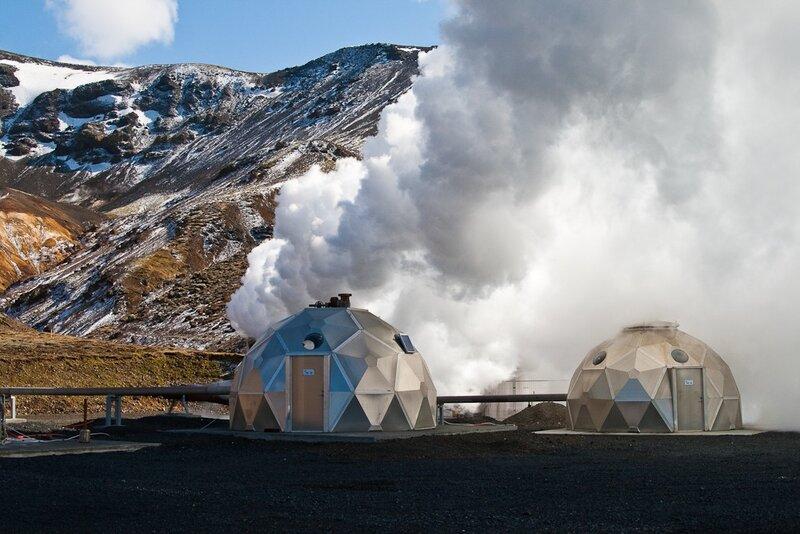 C днём энергетика: посещение геотермальной электростанции Hellisheiði в Исландии