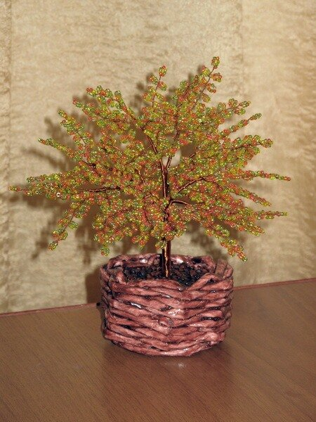 Мое осеннее дерево 2. ELLIN.