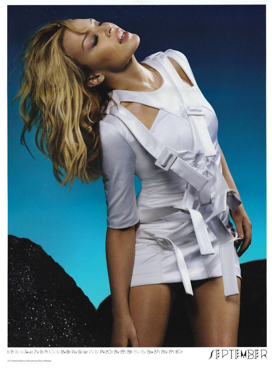Кайли Миноуг / Kylie Minogue 2011 Official Calendar