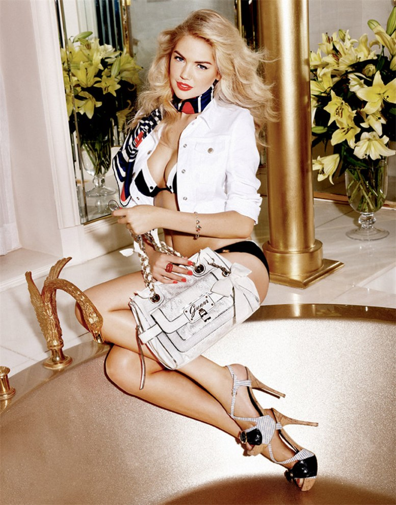 Кейт Аптон / Kate Upton by Yu Tsai for Guess Accessories spring 2011