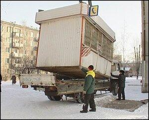 Кто защищает киоски от мэрии Владивостока