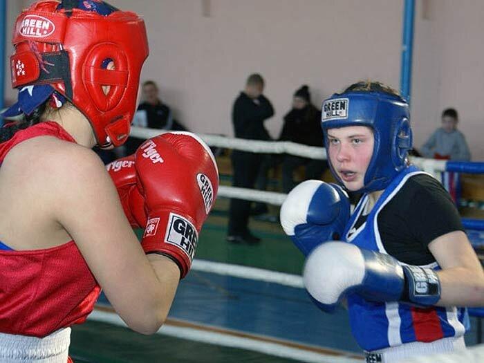 Бокс по женски