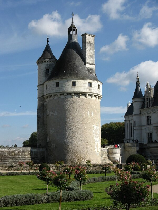 Замок Шенонсо (Château de Chenonceau)