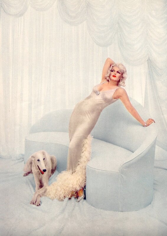 Marilyn Monroe as Jean Harlow