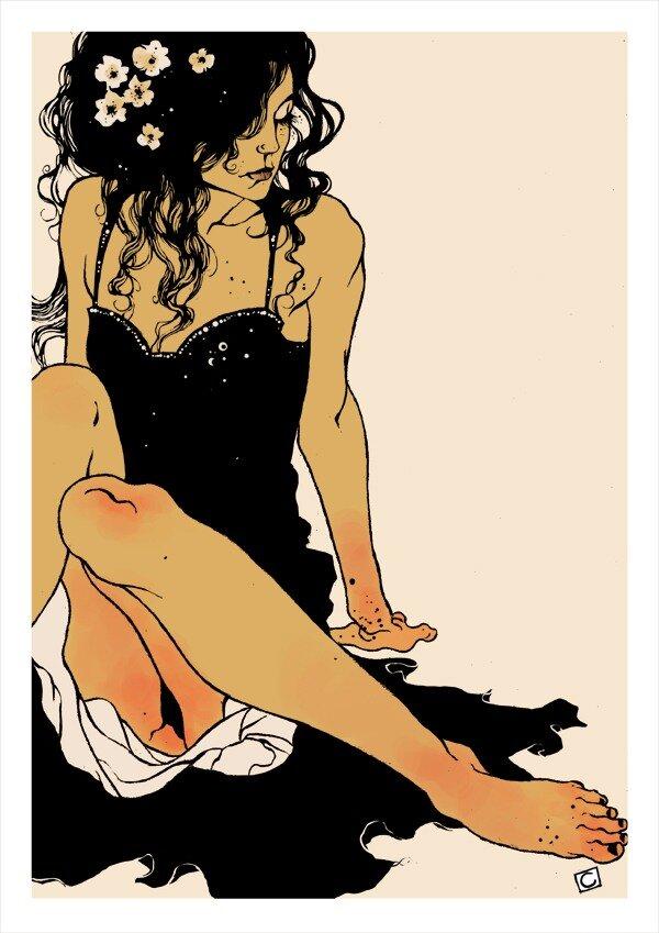 spanish artist Conrad Roset