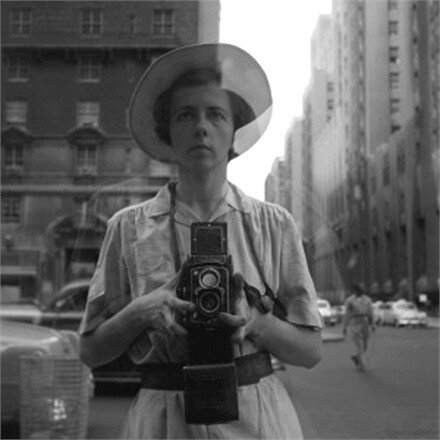 self portrait by Vivian Maier