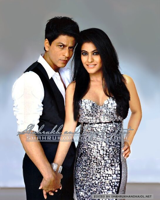 Shah Rukh Khan & Kajol for Vogue 2009