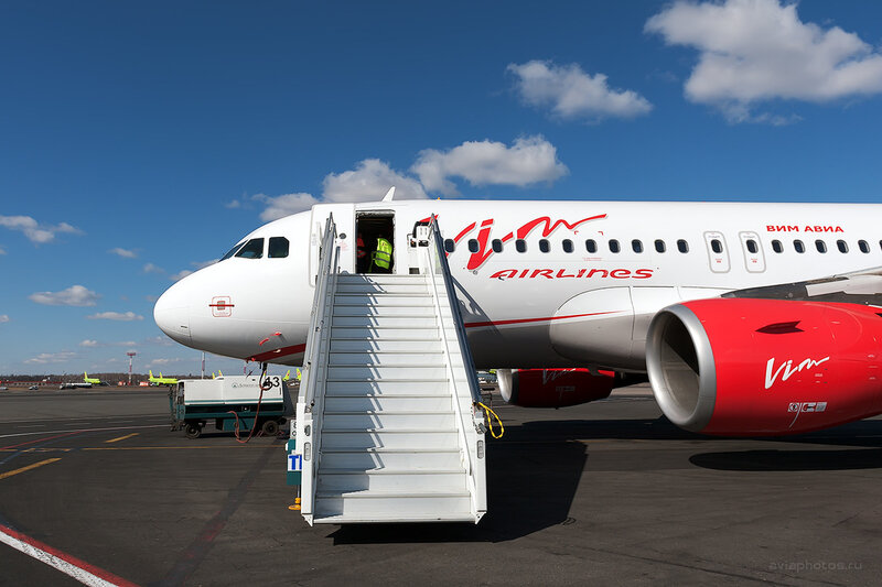 Airbus A319-111 (VQ-BTL) VIM Airlines D708215