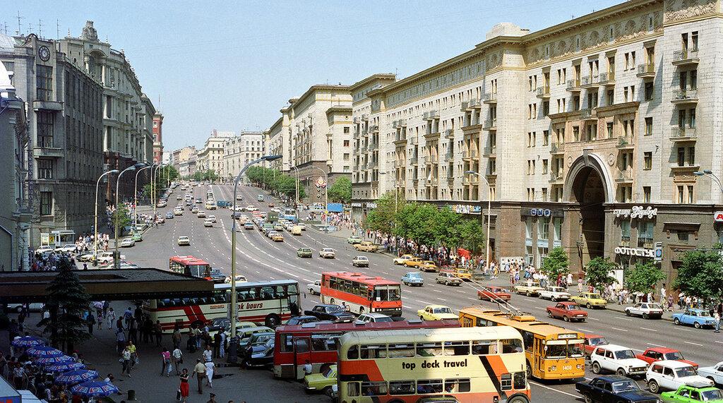 Виды Москвы, 1989 год