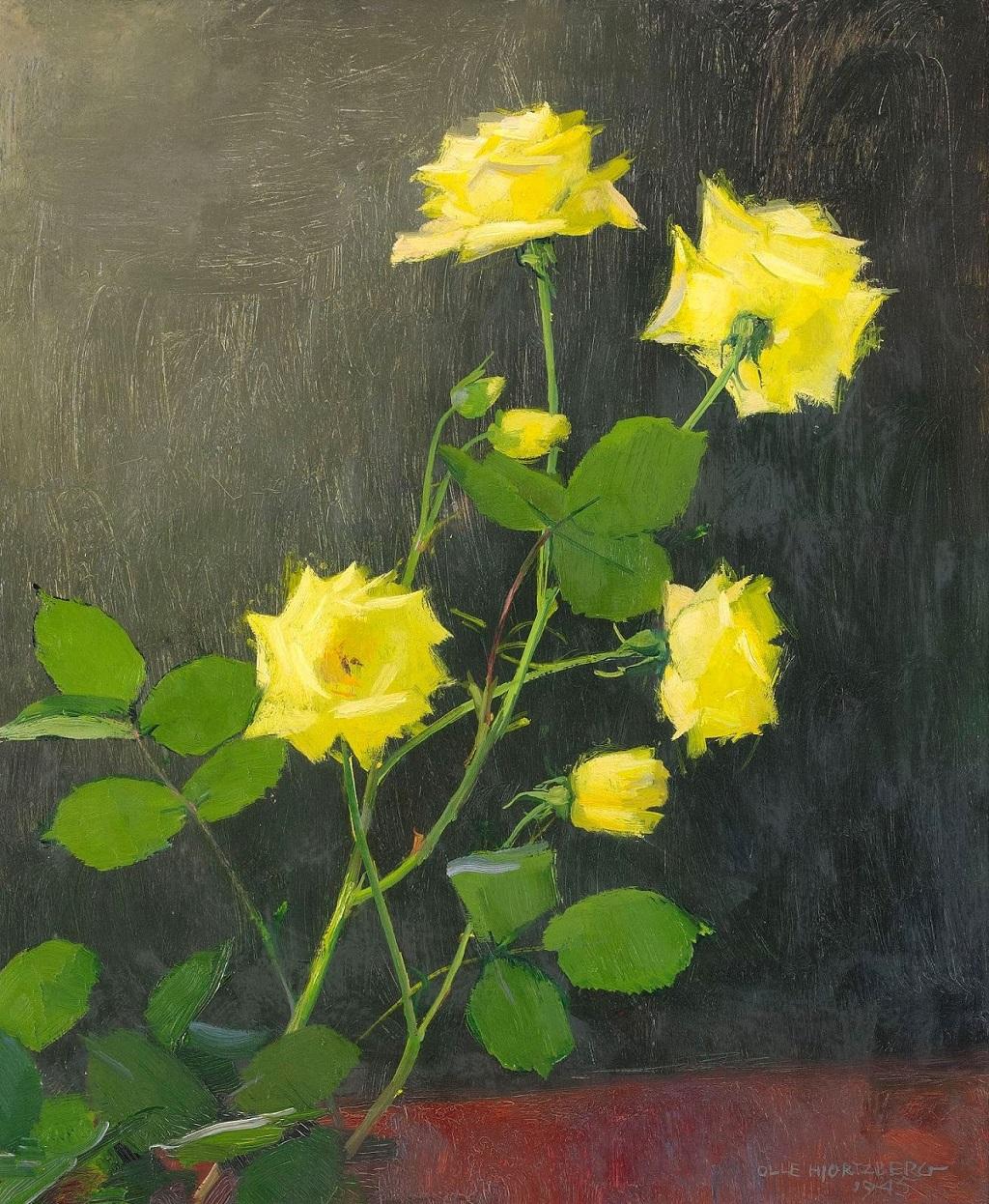 32-1945_Желтые розы_64 x 53_д.,м._Частное собрание.jpg