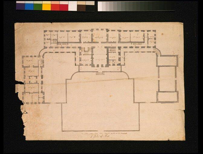 Поместье Кэсл-Хоуард, План главного здания