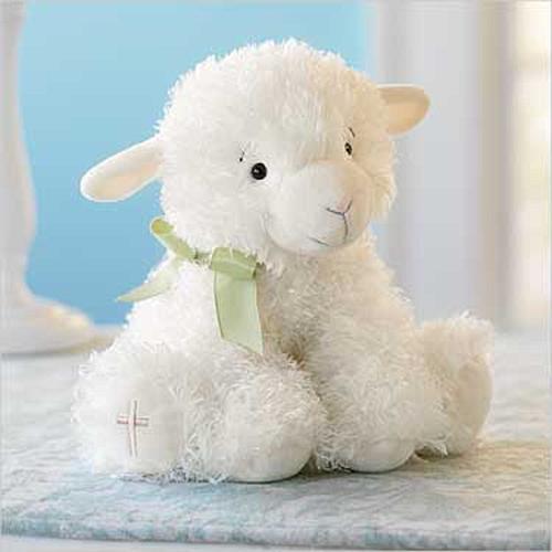Открытка с игрушкой для поздравления малыша с Днем Рождения!