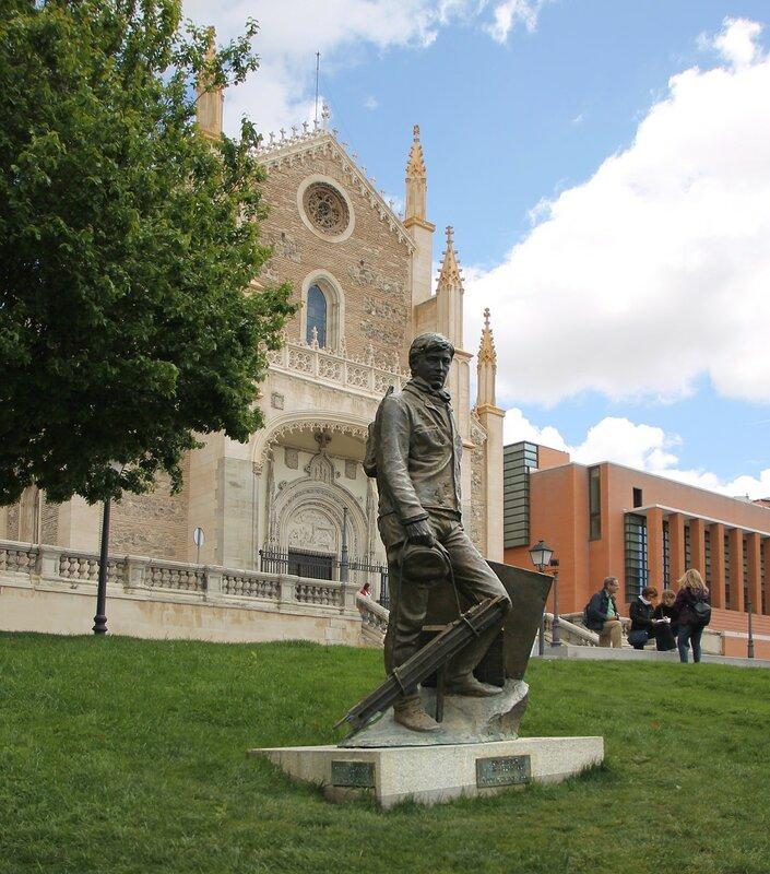 Мадрид. Скульптура Художник для Прадо (Un pintor para el Prado)