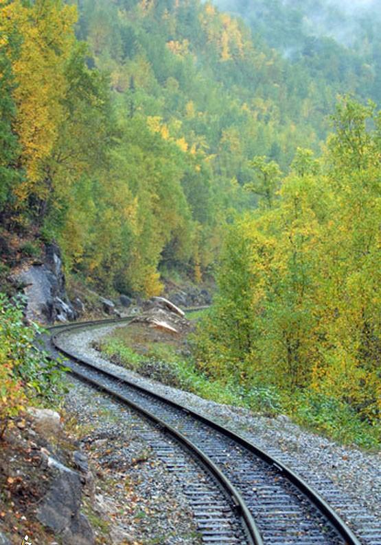 2. Белый перевал и маршрут Юкон, Канада и США Этот 108-километровый маршрут проходит через порт Аляс