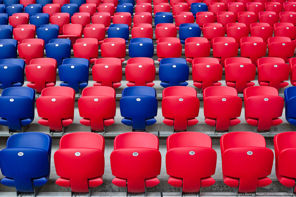 6. Специальная гостевая фанатская зона Арены ЦСКА, рассчитанная на 3 тысячи человек, отделена о
