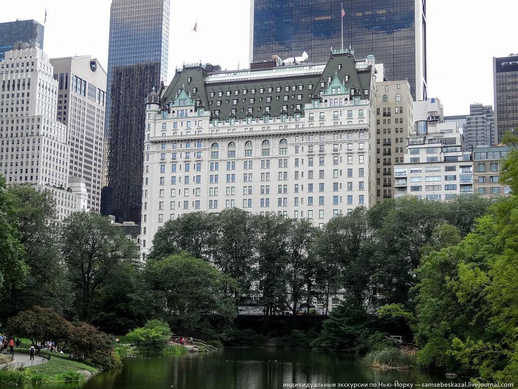 Плаза — это отель, построенный в 1907 году на пересечении Пятой авеню и 58-й улицы. И не просто отел
