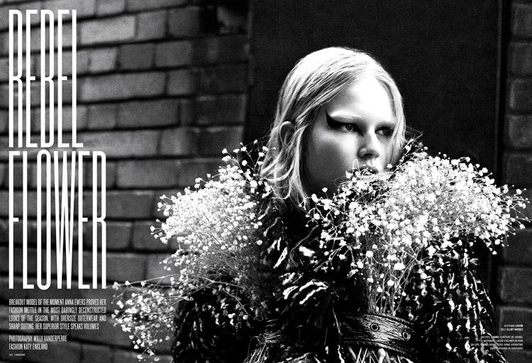 Анна Эверс (Anna Ewers) в журнале V Magazine (10 фото)