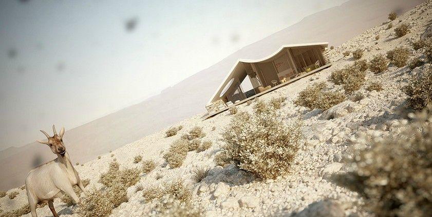 Вилла в пустыне