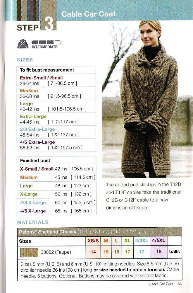 Пальто с арановыми планками