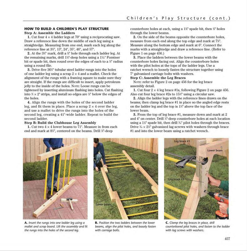 Как сделать детскую площадку во дворе фото 657
