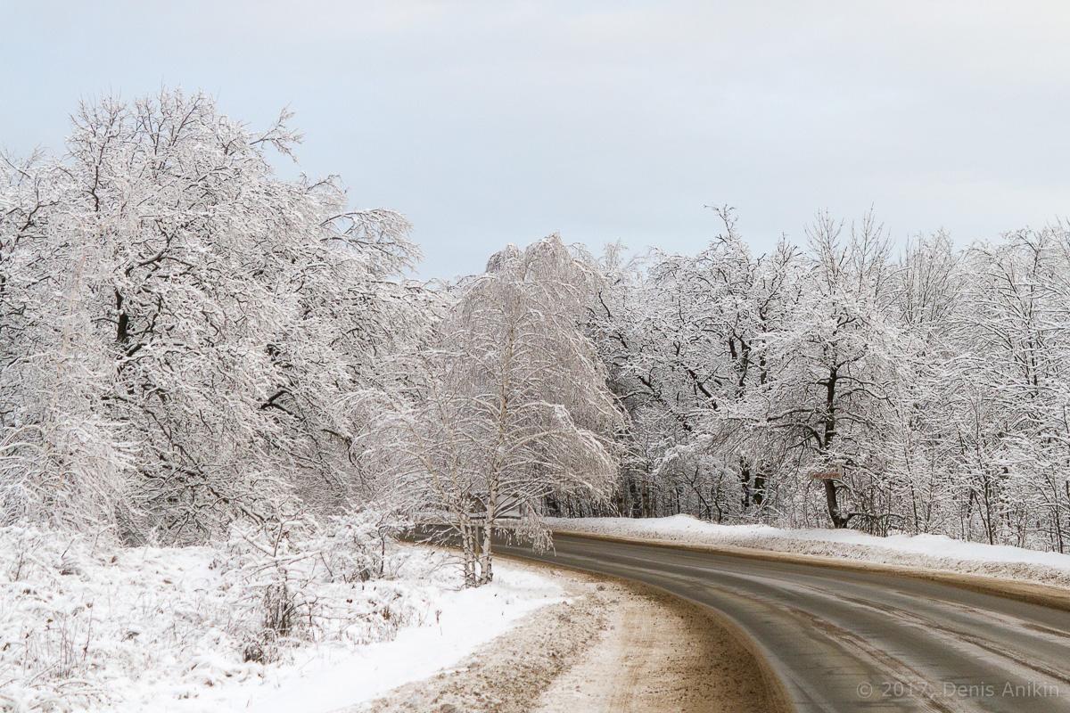 кумыска зима дорога фото 1