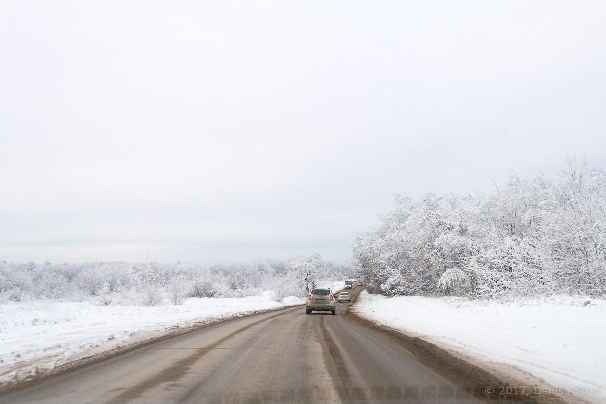 кумыска зима дорога фото 9