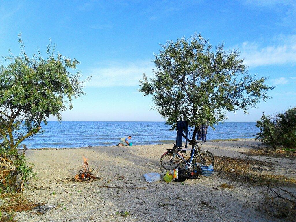 Стоянка на утреннем берегу ... SAM_2106.JPG