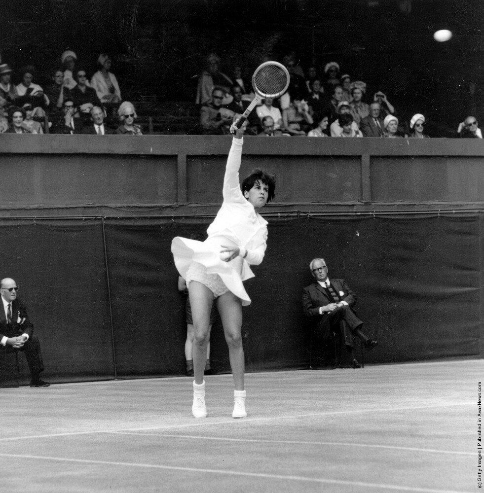 Бразильская теннисистка Maria Bueno 1965