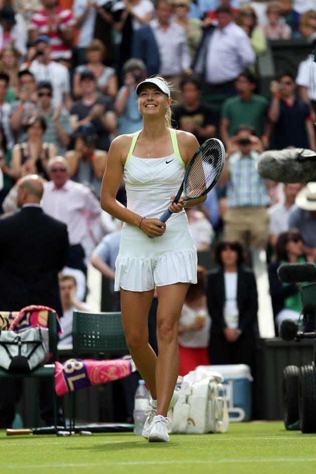 the Wimbledon Maria Sharapova  2012