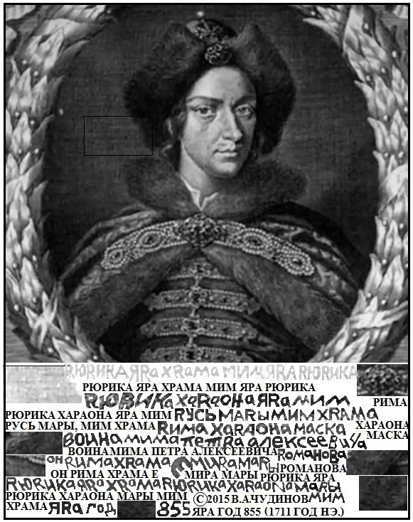Портрет уехавшего царя Петра Первого