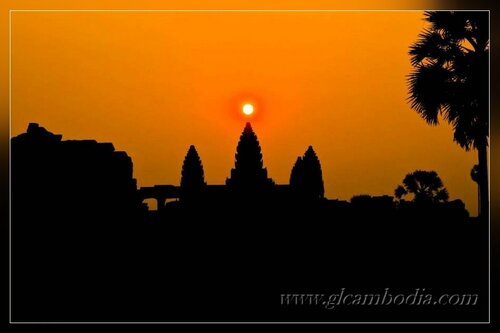 GL Travel, Ангкор ват рассвет