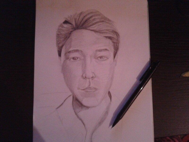 портрет японца