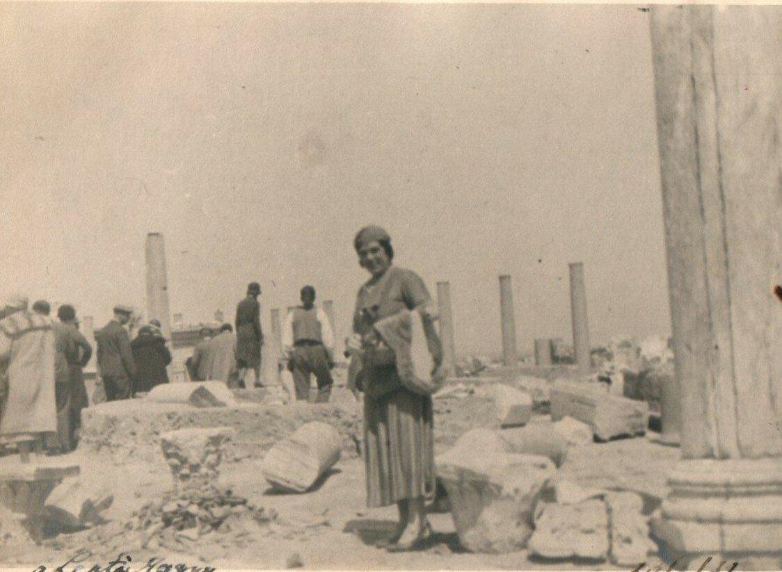 Лептис-Магна. 1932