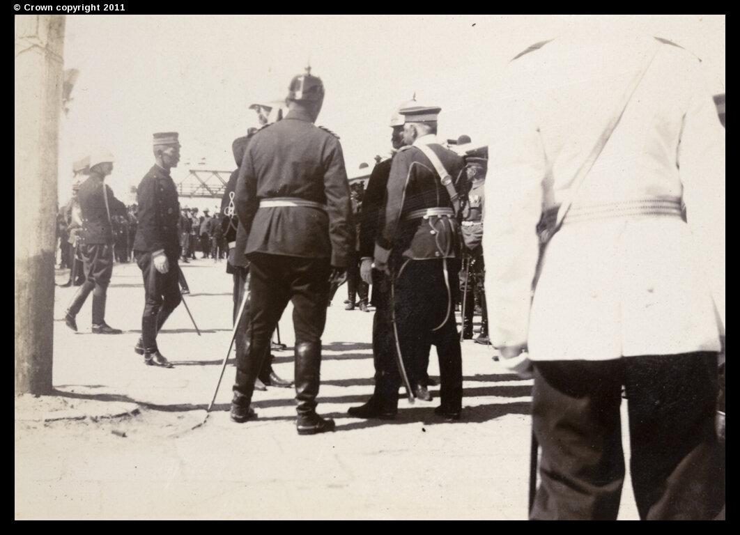 Прибытие графа фон Вальдерзее