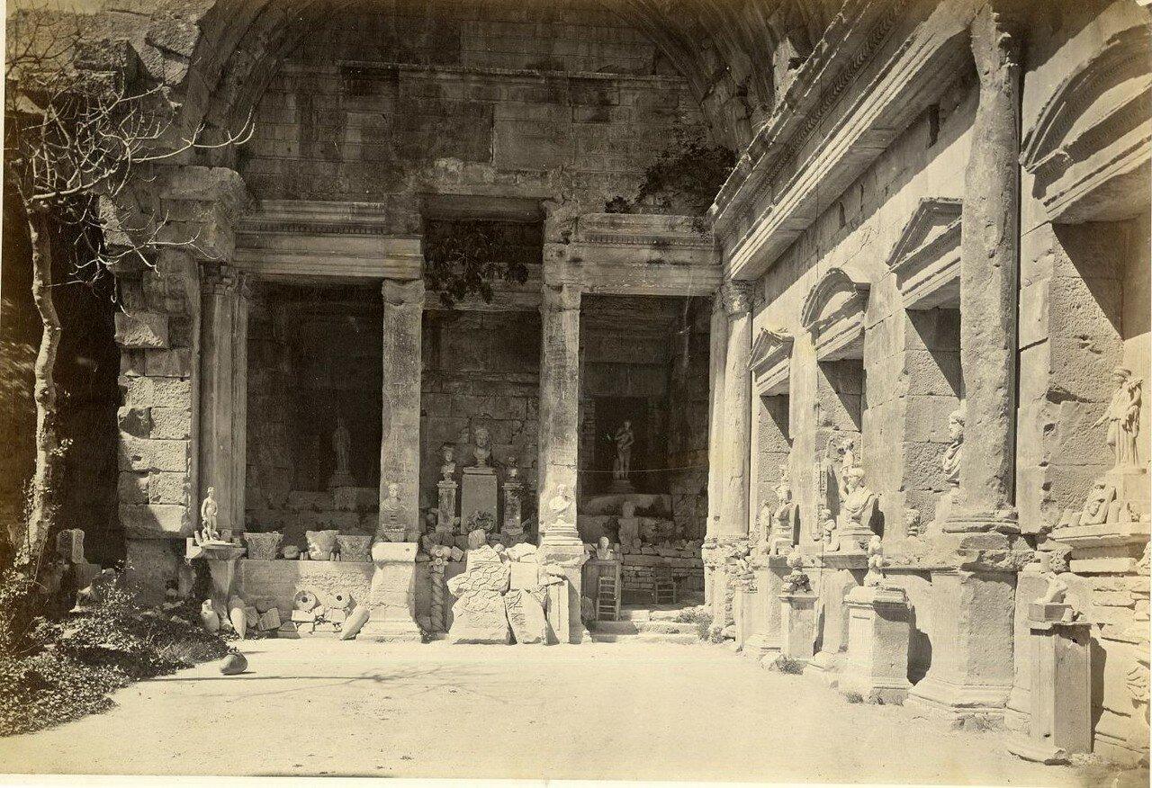 Храм Дианы. Интерьер. 1880-е